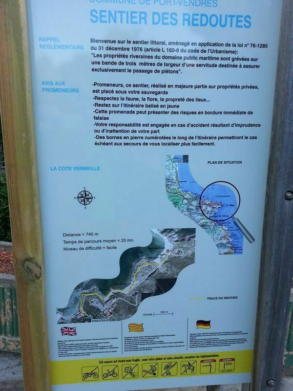 carnets du littoral la cote vermeille